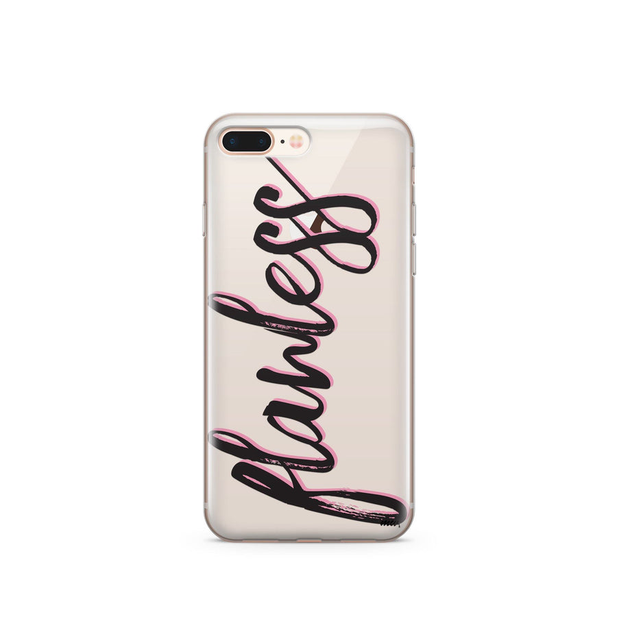 Flawless - Clear TPU Case Cover - Milkyway Cases -  iPhone - Samsung - Clear Cut Silicone Phone Case Cover