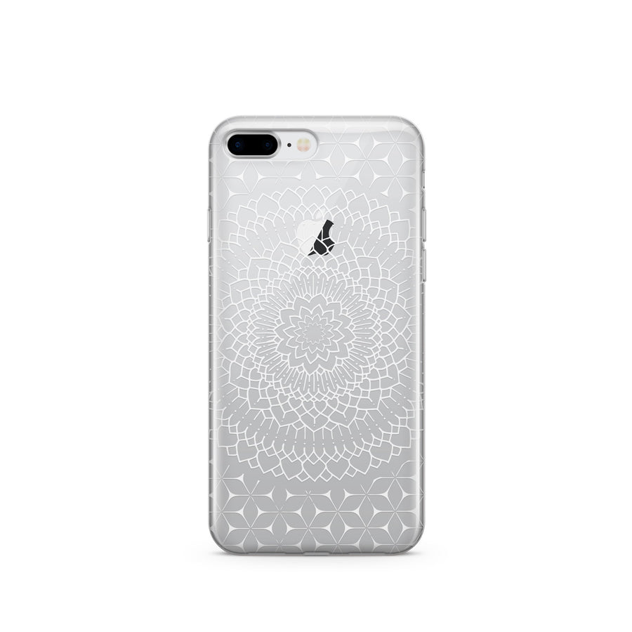 Steph Okits X Milkyway Cases Fleur Mandala - Clear TPU Case Cover