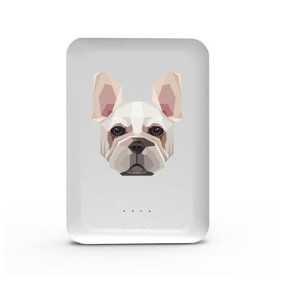 French Bulldog - 10,000 mAh Mini Portable Power Bank Charger