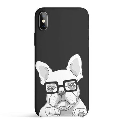 Frenchie - Colored Candy Cases Matte TPU iPhone Cover