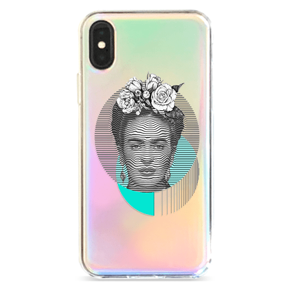 Frida Kahlo - Holographic iPhone Case