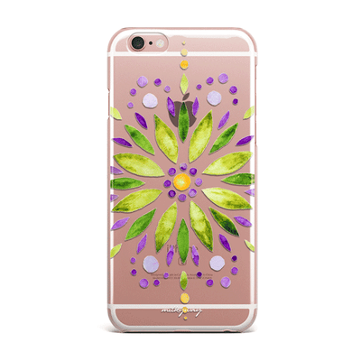 Garden Mandala - Clear TPU Case Cover