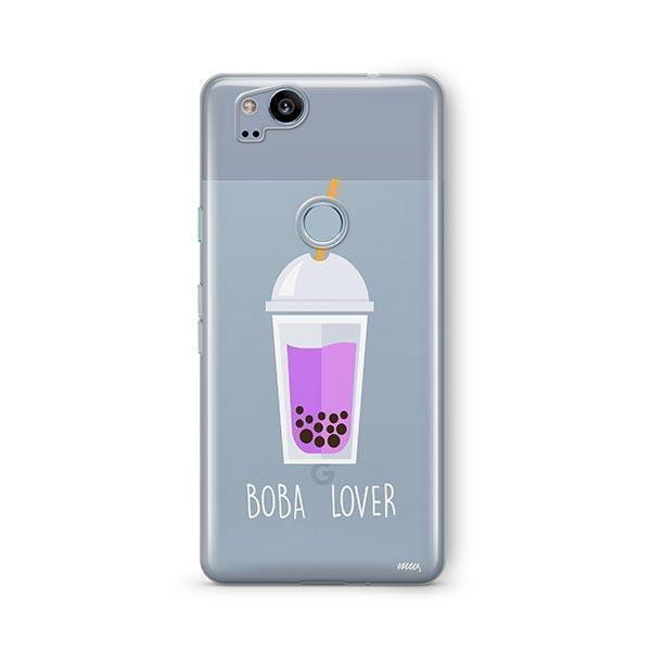 Boba Lover Google Pixel 2 Case Clear