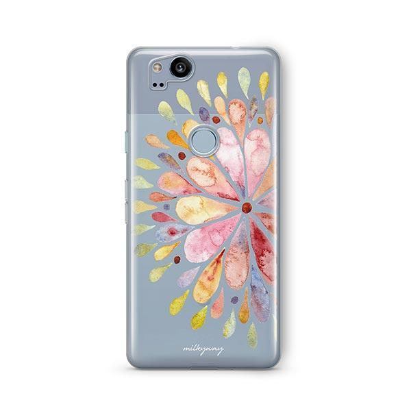 Blissful Mandala Google Pixel 2 Case Clear