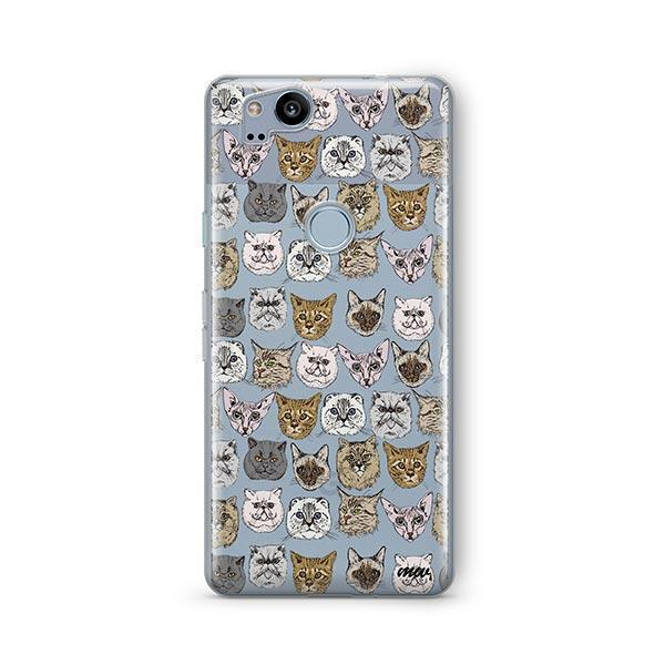 Cat Overload 2 - Google Pixel 2 Clear Case