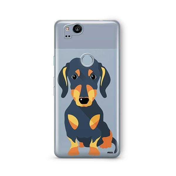 Doxie - Google Pixel 2 Clear Case
