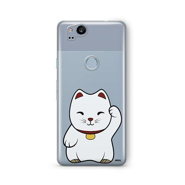 Lucky Cat - Google Pixel 2 Clear Case