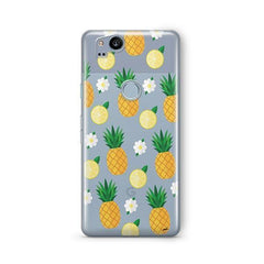 Pineapple Lemon Summer Google Pixel 2 Case Clear