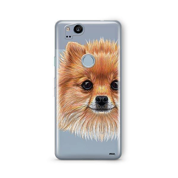 Pomsky Puppy - Google Pixel 2 Clear Case