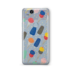 Sprinkles Ice Cream Google Pixel 2 Case Clear