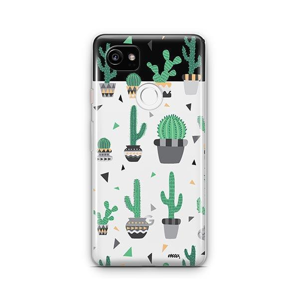 Cactus Party Google Pixel 2 XL Case Clear
