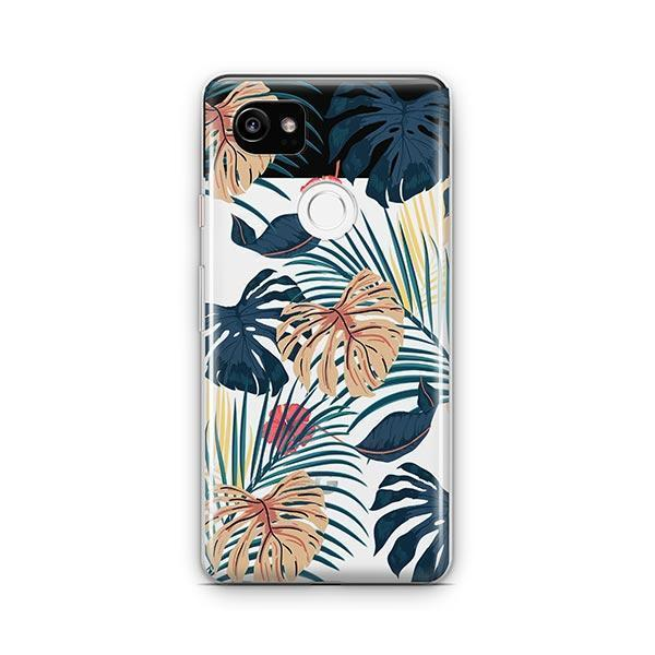 New Day Monstera Google Pixel 2 XL Case Clear