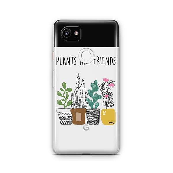 Plants Are Friends Google Pixel 2 XL Case Clear