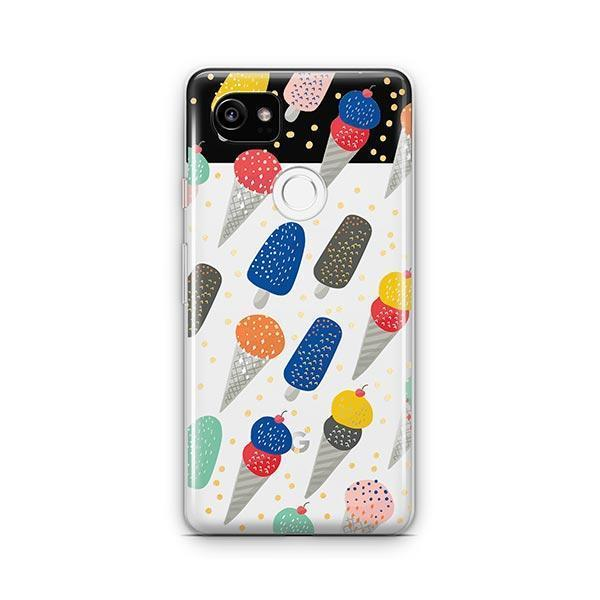 Sprinkles Ice Cream Google Pixel 2 XL Case Clear