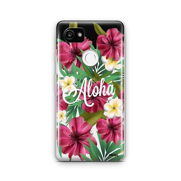 Aloha 2.0 Google Pixel 2 XL Case Clear