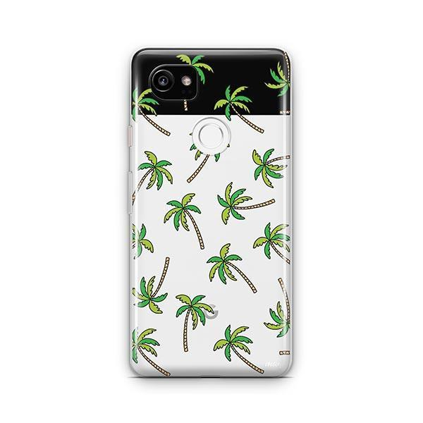 Aloha Trees Google Pixel 2 XL Case Clear