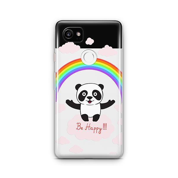 Be Happy Google Pixel 2 XL Case Clear