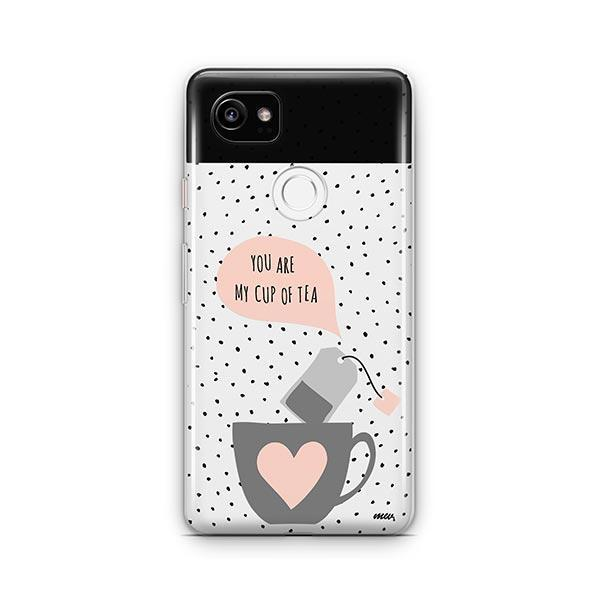 Cup of Tea Google Pixel 2 XL Case Clear