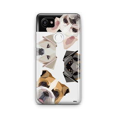 Dogs with Attitude - Google Pixel 2 XL Clear Case