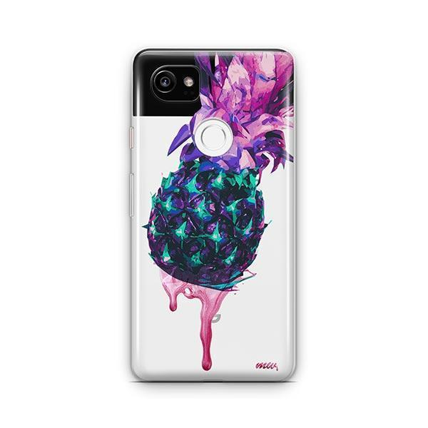 Dripping Pineapple Google Pixel 2 XL Case Clear