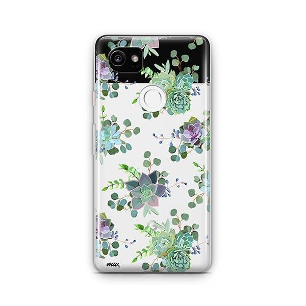 Echeveria Google Pixel 2 XL Case Clear