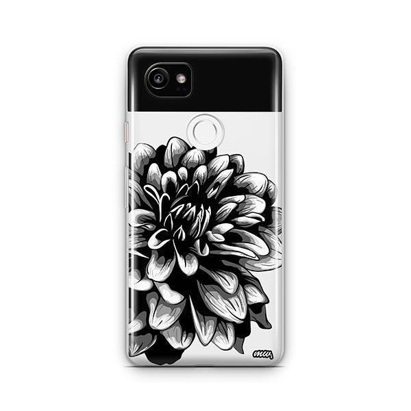The Black Dahlia Google Pixel 2 XL Case Clear