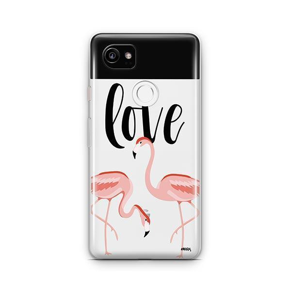 Flaming Love Google Pixel 2 XL Case Clear