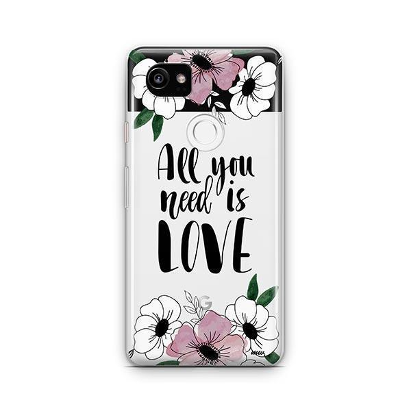 All You Need is Love Google Pixel 2 XL Case Clear