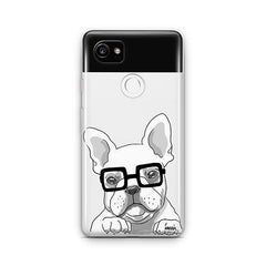 The Frenchie - Google Pixel 2 XL Clear Case
