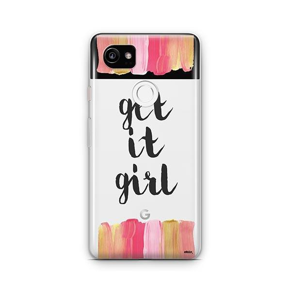 Get It Girl Google Pixel 2 XL Case Clear