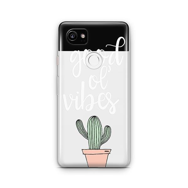 Good Ol Vibes Google Pixel 2 XL Case Clear