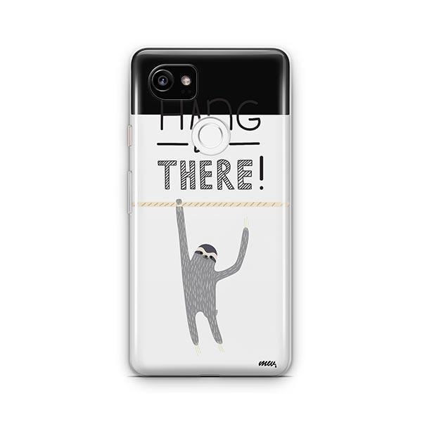 Hanging Sloth Google Pixel 2 XL Case Clear