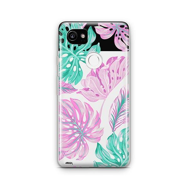 Hawaiian Garden Google Pixel 2 XL Case Clear