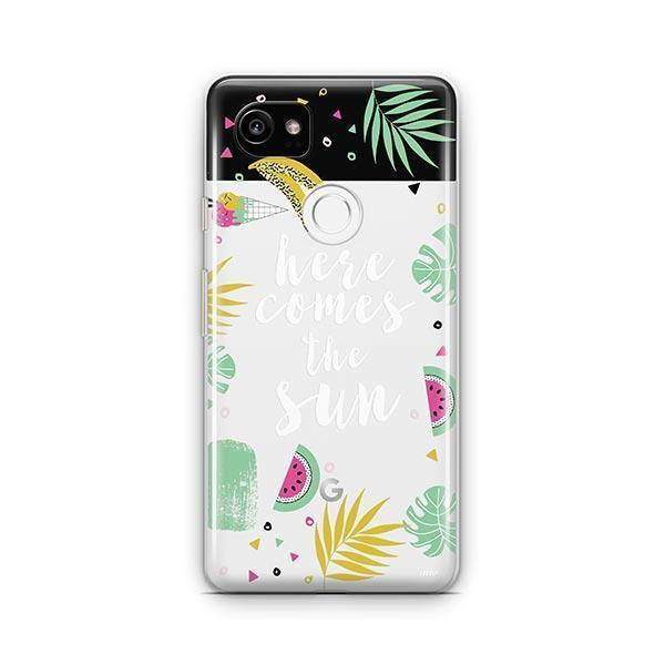 Here Comes The Sun Google Pixel 2 XL Case Clear