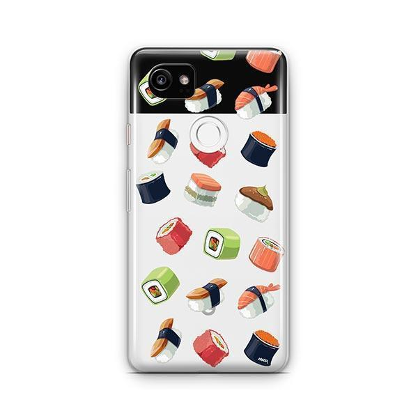 Sushi Lover Google Pixel 2 XL Case Clear