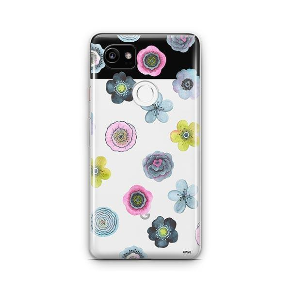 Watercolor Succulent Google Pixel 2 XL Case Clear
