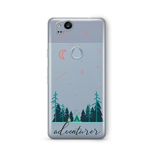 Adventurer Google Pixel 2 Case Clear