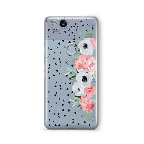 Anemone Rose Google Pixel 2 Case Clear