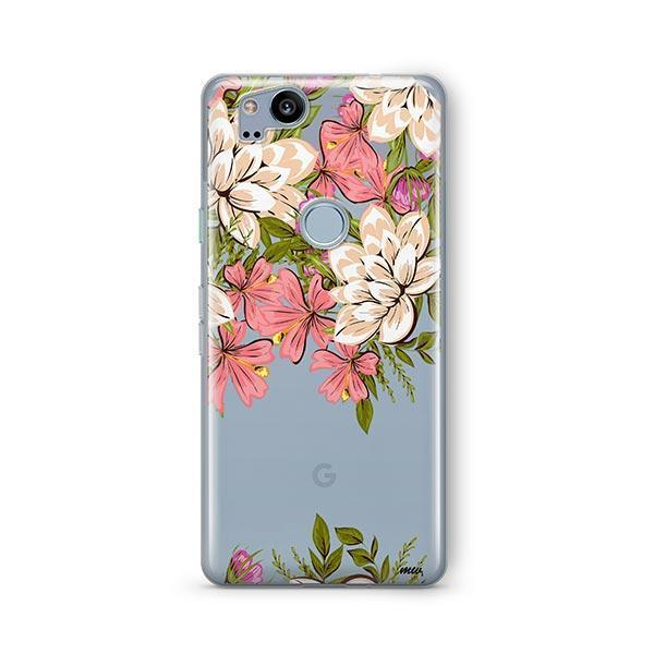 Angela Floral Google Pixel 2 Case Clear