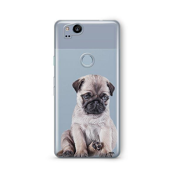 Baby Pug - Google Pixel 2 Clear Case
