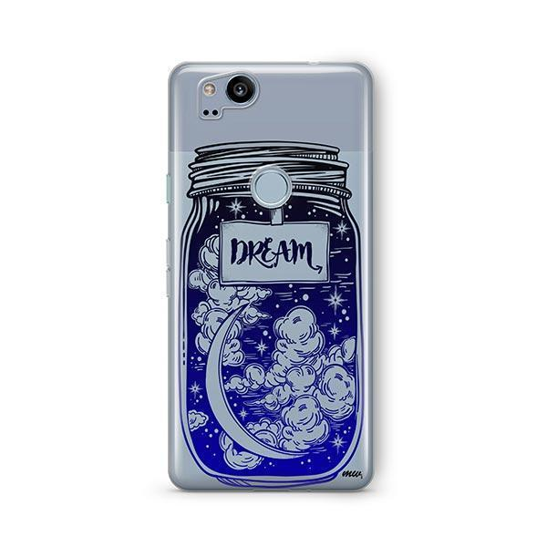 Blue Dream Google Pixel 2 Case Clear