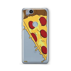 Pizza Slice Google Pixel 2 Case Clear