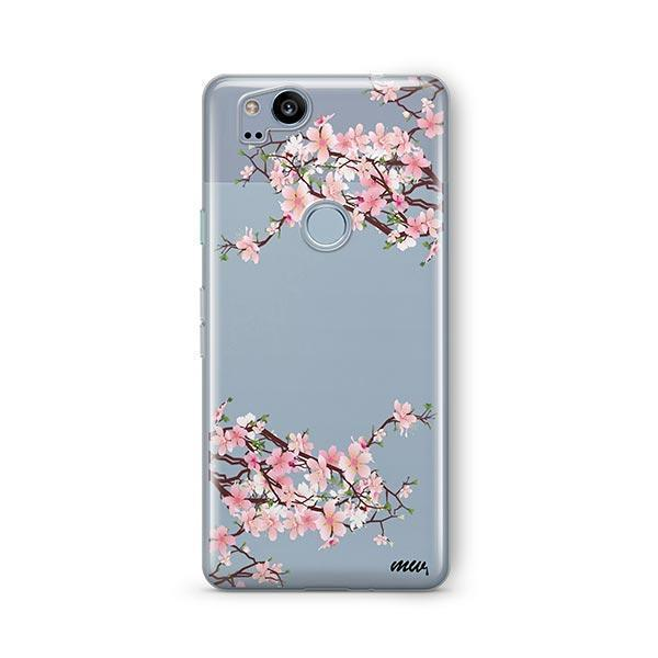 Cherry Blossom Google Pixel 2 Case Clear