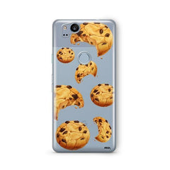 Chocolate Covered Strawberry Google Pixel 2 Case Clear