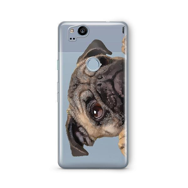 Cry Baby Pug - Google Pixel 2 Clear Case