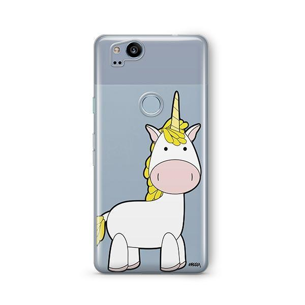 Cute Unicorn Google Pixel 2 Case Clear