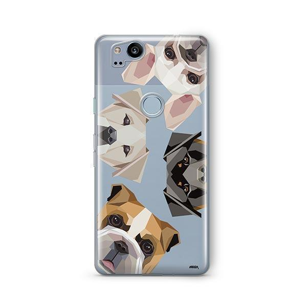 Dogs with Attitude - Google Pixel 2 Clear Case