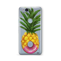Donut Pineapple Google Pixel 2 Case Clear