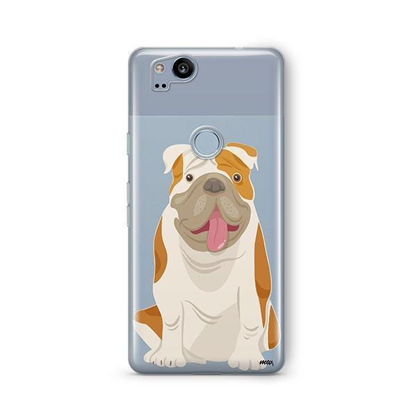 English Bulldog - Google Pixel 2 Clear Case