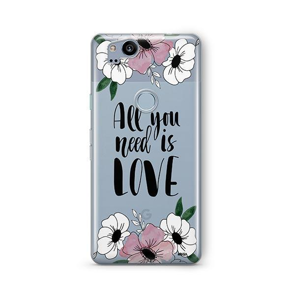 All You Need is Love Google Pixel 2 Case Clear